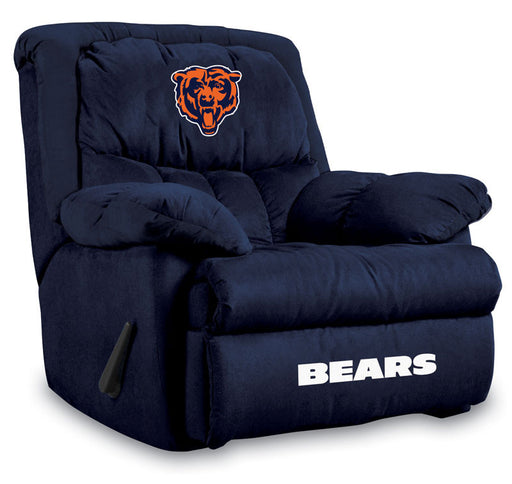Chicago Bears Microfiber Home Team Recliner | Man Cave Authority | IMP  141-1019