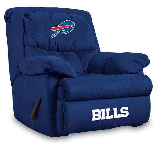 Buffalo Bills Microfiber Home Team Recliner | Man Cave Authority | IMP  141-1021