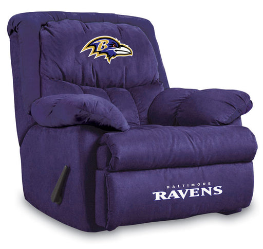 Baltimore Ravens Microfiber Home Team Recliner | Man Cave Authority | IMP  141-1025