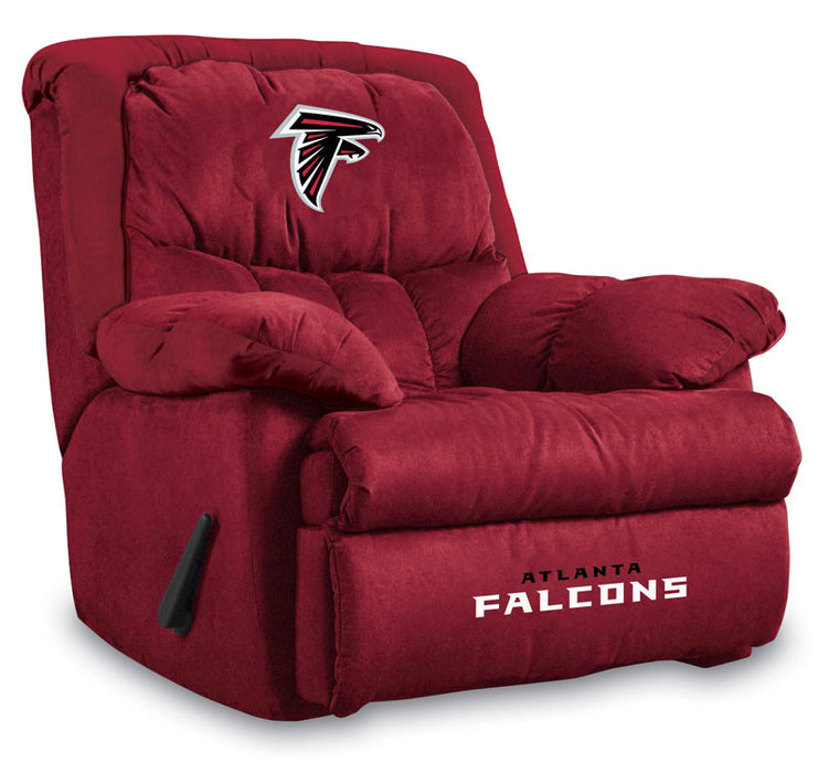 Atlanta Falcons Microfiber Home Team Recliner | Man Cave Authority | IMP  141-1030