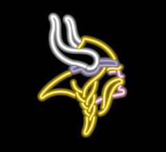 Minnesota Vikings Neon Sign | Man Cave Authority | IMP 150-1007