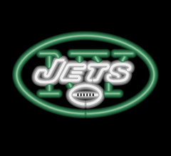 New York Jets Neon Sign | Man Cave Authority | IMP 150-1012
