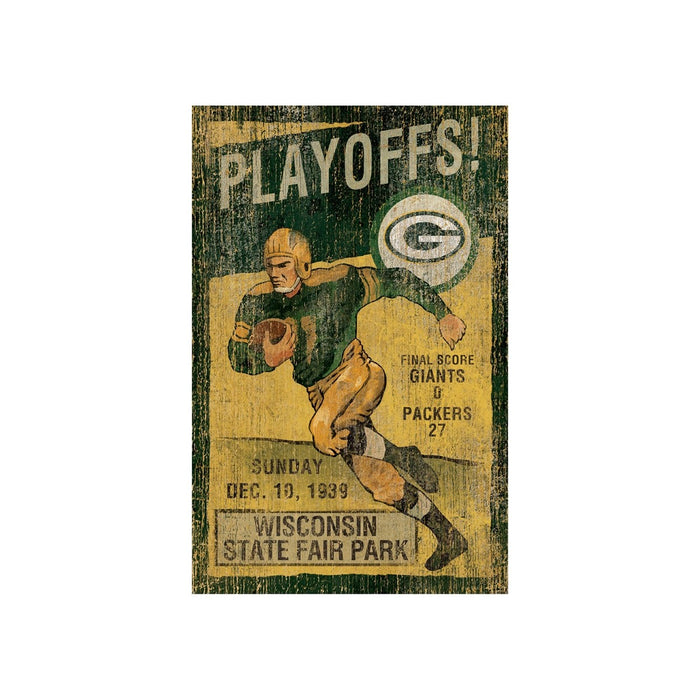 Green Bay Packers Wall Art | Man Cave Authority | IMP 151-1001