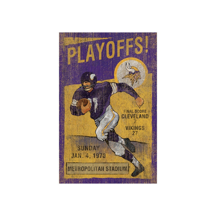 Minnesota Vikings Wall Art | Man Cave Authority | IMP 151-1007