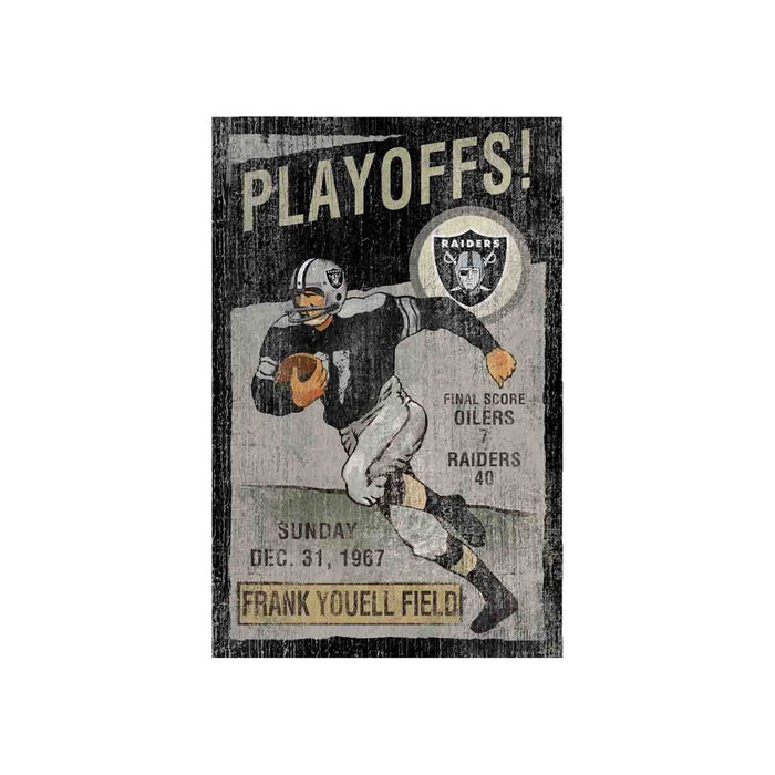 Oakland Raiders Wall Art | Man Cave Authority | IMP 151-1010