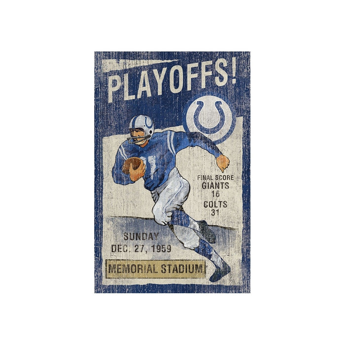 Indianapolis Colts Wall Art | Man Cave Authority | IMP 151-1022