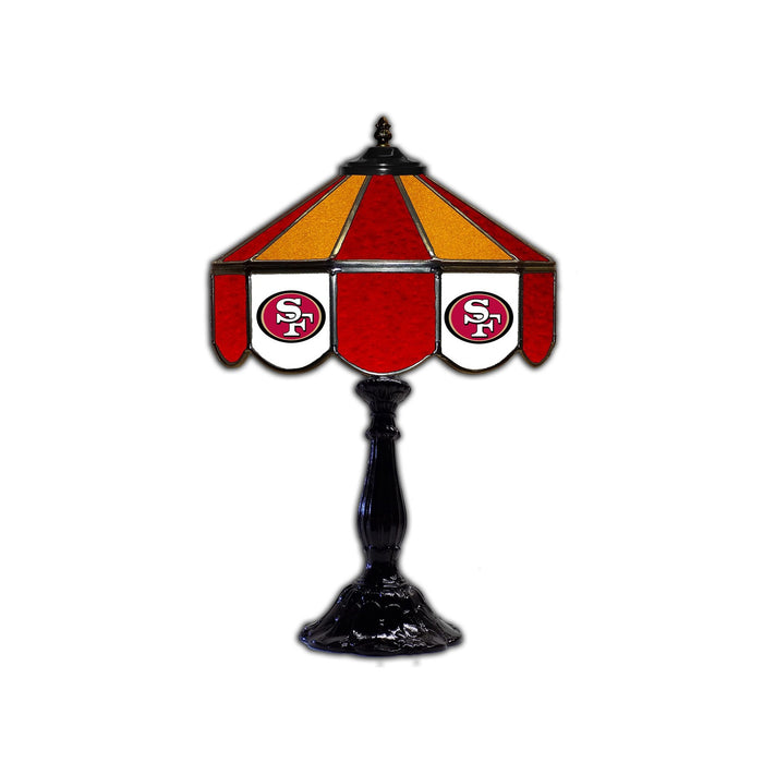 San Francisco 49ers Table Lamp | Man Cave Authority | IMP 159 1005