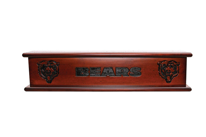 Chicago Bears Memorabilia Shelf | Man Cave Authority | IMP 162-1019