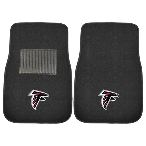 Atlanta Falcons 2-pc Embroidered Car Mat Set | Man Cave Authority | 17131
