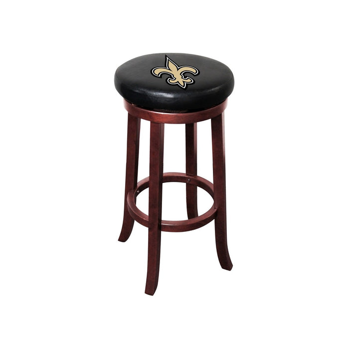 New Orleans Saints Wood Bar Stool | Man Cave Authority | IMP 177-1031