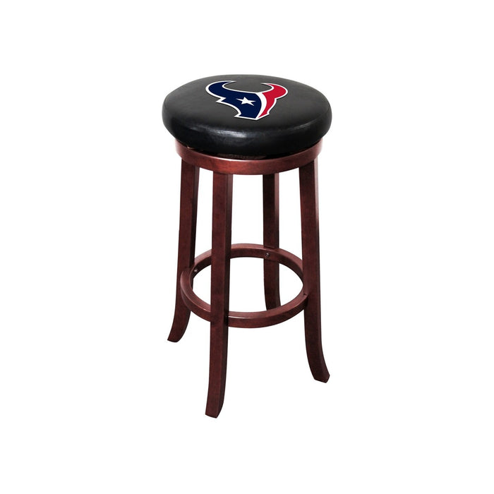 Houston Texans Wood Bar Stool | Man Cave Authority | IMP 177-1034