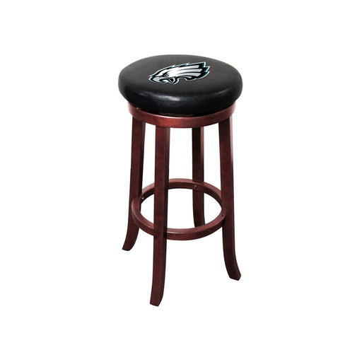 Philadelphia Eagles Wood Bar Stool | Man Cave Authority | IMP 177-1037
