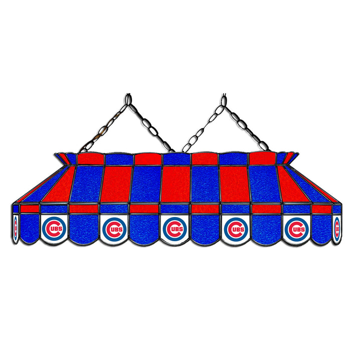 Chicago Cubs   Stained Glass Pool Table Lamp | Man Cave Authority | IMP 18-2005