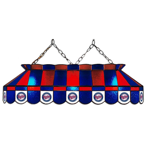 Minnesota Twins Stained Glass Pool Table Lamp | Man Cave Authority | IMP 18-2017
