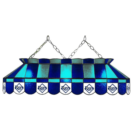 Tampa Bay Rays Stained Glass Pool Table Lamp | Man Cave Authority | IMP 18-2019