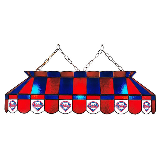 Philadelphia Phillies Stained Glass Pool Table Lamp | Man Cave Authority | IMP 18-2029