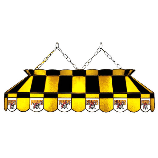 Pittsburgh Pirates Stained Glass Pool Table Lamp | Man Cave Authority | IMP 18-2030