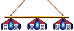 Chicago Cubs 3 Shade Glass Lamp | Man Cave Authority | IMP 18-2105