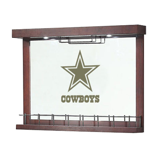 Dallas Cowboys Mirrored Bar Wall