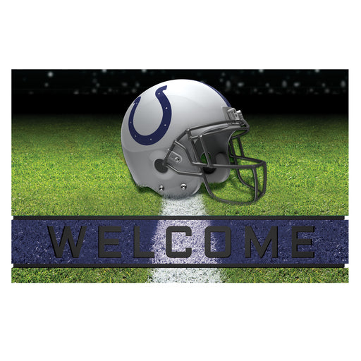 Indianapolis Colts Crumb Rubber Door Mat | Man Cave Authority | 19946