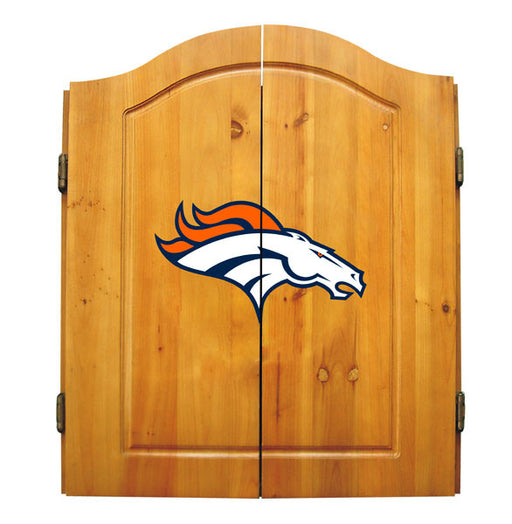 Denver Broncos Complete Dart Cabinet Set | Man Cave Authority | IMP  20-1003