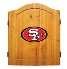 San Francisco 49ers Complete Dart Cabinet Set | Man Cave Authority | IMP  20-1005