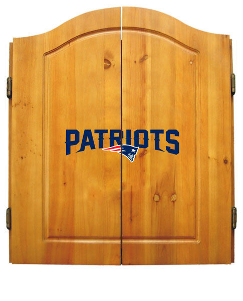 New England Patriots Complete Dart Cabinet Set | Man Cave Authority | IMP  20-1011