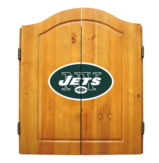 New York Jets Complete Dart Cabinet Set | Man Cave Authority | IMP  20-1012