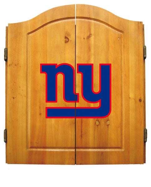 New York Giants Complete Dart Cabinet Set | Man Cave Authority | IMP  20-1013