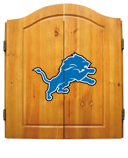 Detroit Lions Complete Dart Cabinet Set | Man Cave Authority | IMP  20-1018