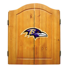 Baltimore Ravens Complete Dart Cabinet Set | Man Cave Authority | IMP  20-1025