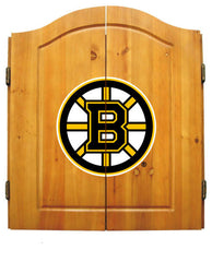 Boston Bruins Complete Dart Cabinet Set | Man Cave Authority | IMP  20-4101