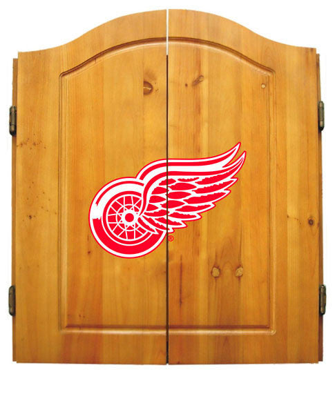 Detroit Red Wings Complete Dart Cabinet Set | Man Cave Authority | IMP  20-4105