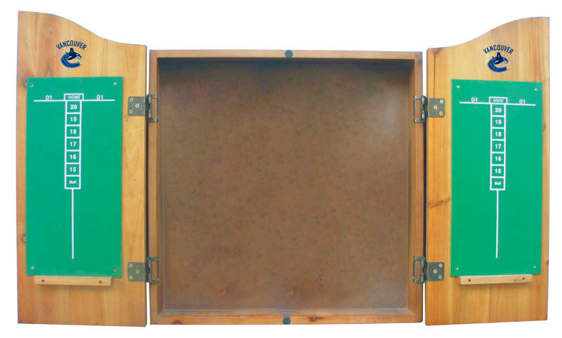 Vancouver Canucks Complete Dart Cabinet Set | Man Cave Authority | IMP  20-4108