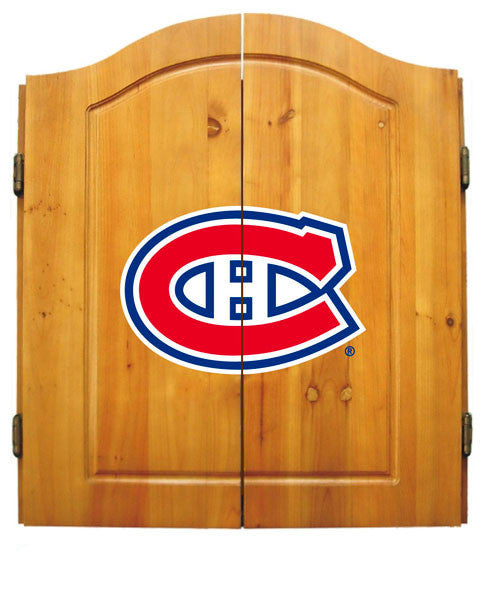 Montreal Canadiens Complete Dart Cabinet Set | Man Cave Authority | IMP  20-4109