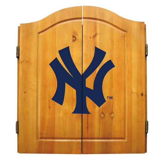 New York Yankees Complete Dart Cabinet Set | Man Cave Authority | IMP  20-5001