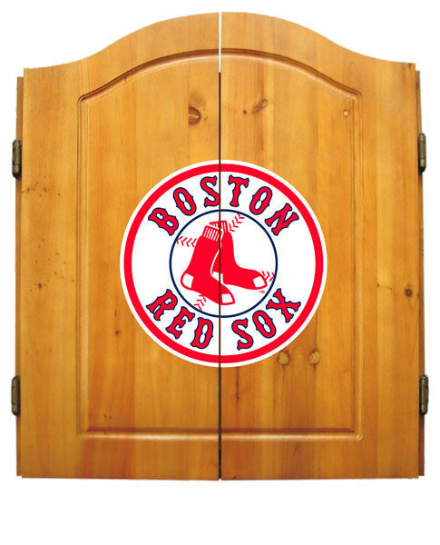Boston Red Sox Complete Dart Cabinet Set | Man Cave Authority | IMP  20-5003