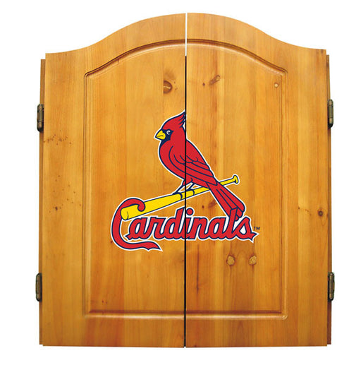 St Louis Cardinals Complete Dart Cabinet Set | Man Cave Authority | IMP  20-5008
