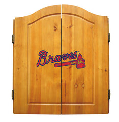 Atlanta Braves Complete Dart Cabinet Set | Man Cave Authority | IMP  20-5010