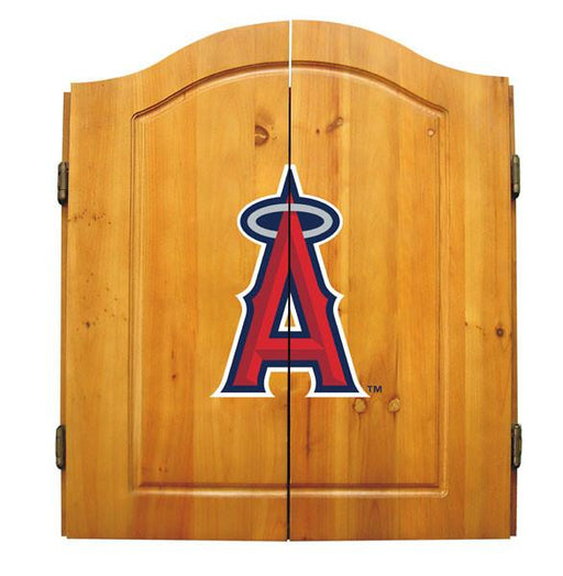 Anaheim Angels Complete Dart Cabinet Set | Man Cave Authority | IMP  20-5013