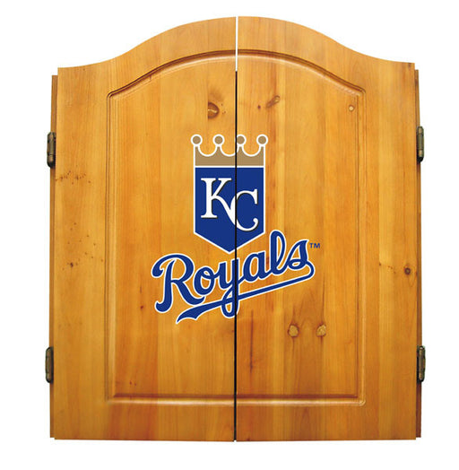 Kansas City Royals Complete Dart Cabinet Set | Man Cave Authority | IMP  20-5016