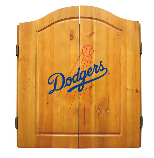 Los Angeles Dodgers Complete Dart Cabinet Set | Man Cave Authority | IMP  20-5026