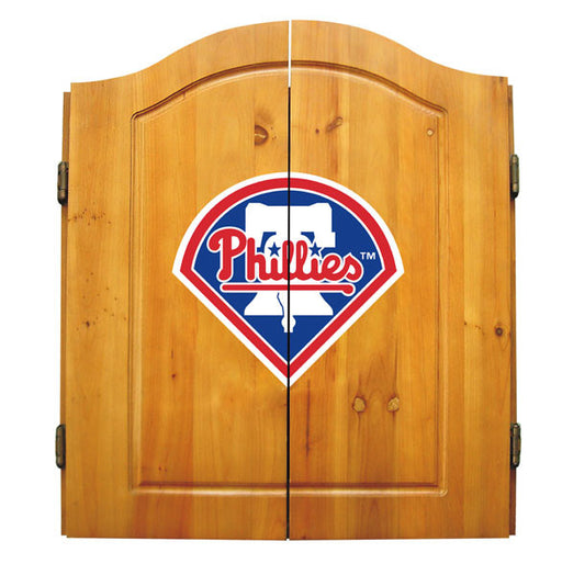 Philadelphia Phillies Complete Dart Cabinet Set | Man Cave Authority | IMP  20-5029