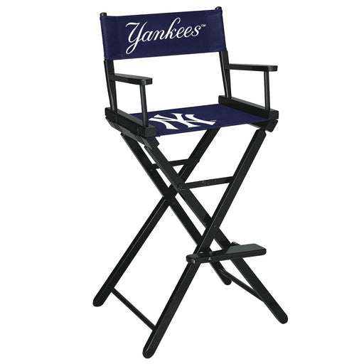 New York Yankees Bar Height Directors Chair | Man Cave Authority | IMP 200-2001