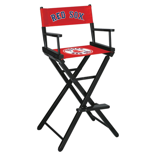 Boston Red Sox Bar Height Directors Chair | Man Cave Authority | IMP 200-2003