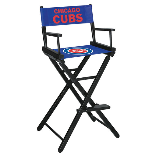 Chicago Cubs   Bar Height Directors Chair | Man Cave Authority | IMP 200-2005
