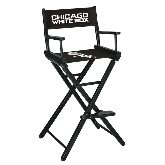 Chicago White Sox Bar Height Directors Chair | Man Cave Authority | IMP 200-2006