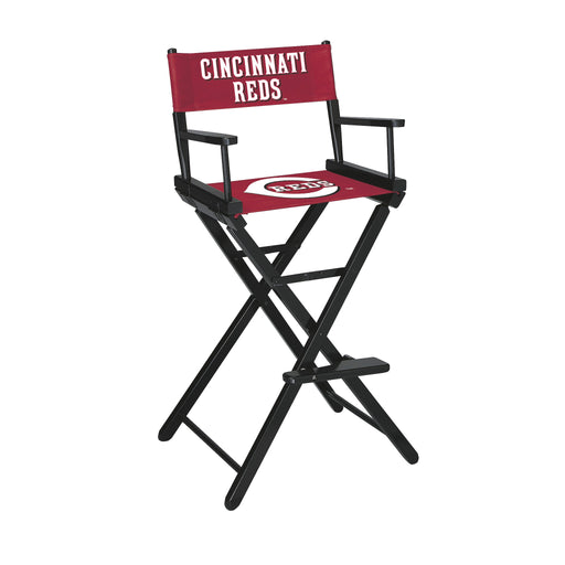 Cincinnati Reds Bar Height Directors Chair | Man Cave Authority | IMP 200-2007
