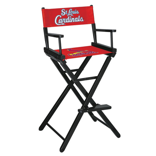 St Louis Cardinals Bar Height Directors Chair | Man Cave Authority | IMP 200-2008