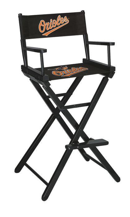 Baltimore Orioles Bar Height Directors Chair | Man Cave Authority | IMP 200-2014